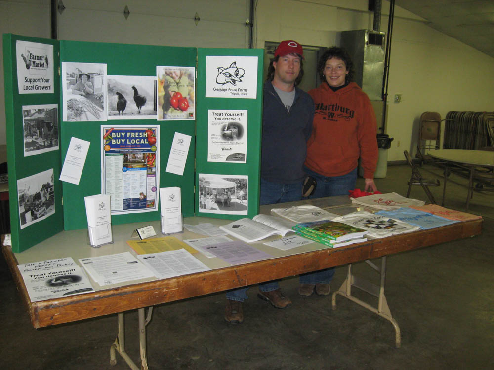 Staffing a table